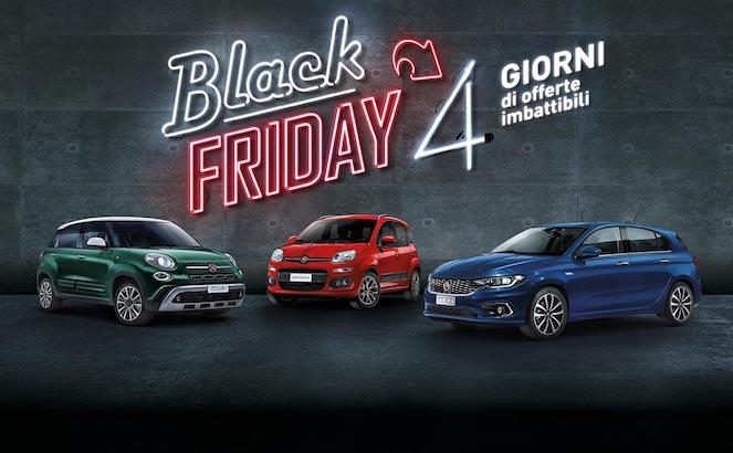 Black Friday 2018: l'offerta di Fiat e Lancia