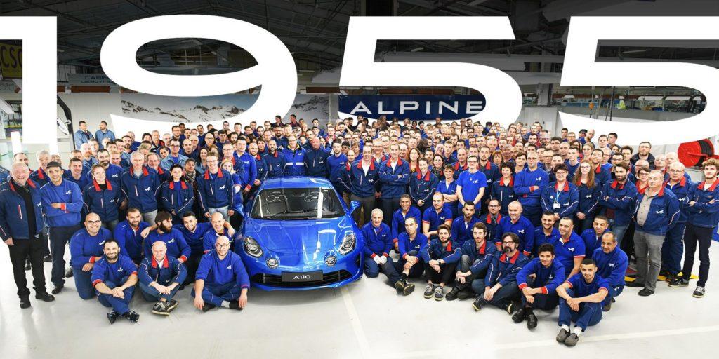 Alpine A110 Premiere Edition: la produzione è terminata