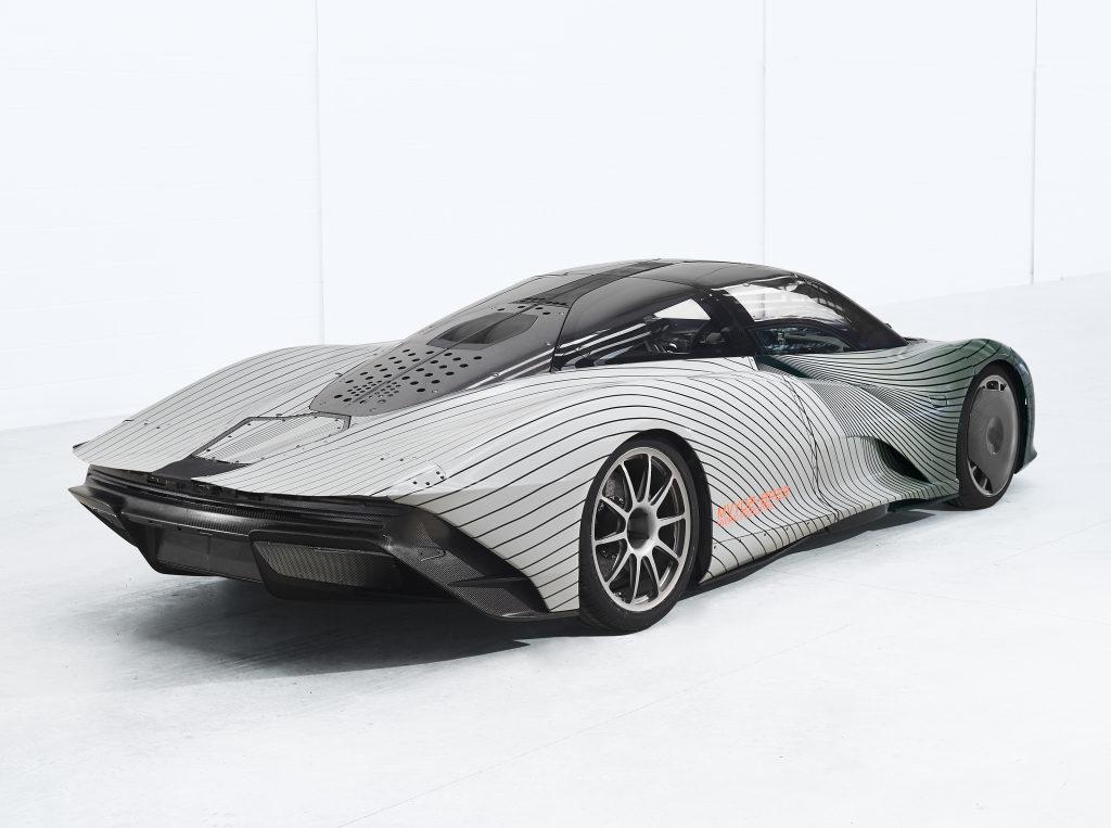 McLaren Speedtail: al via i test di sviluppo della nuova hypercar