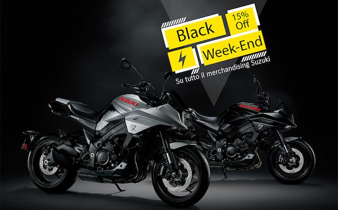 Suzuki: il Black Friday con il 15% di sconto sulla Collection