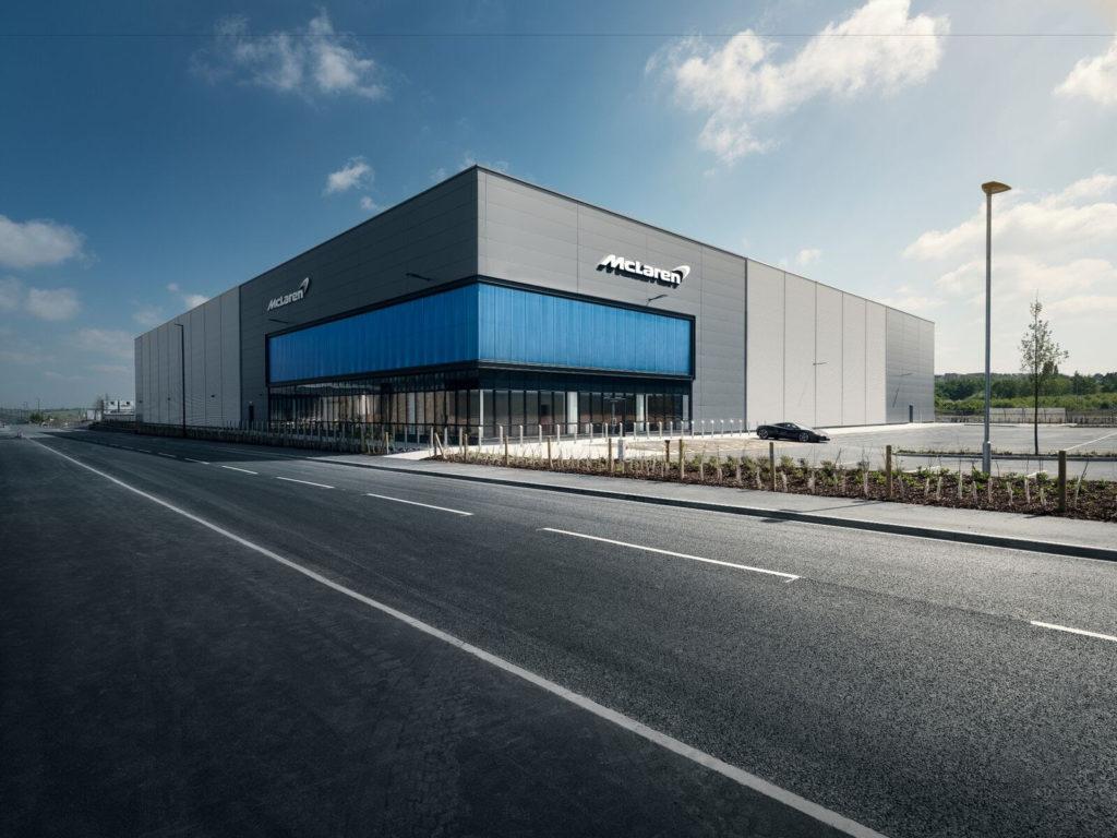 McLaren: inaugurato il nuovo Composites Technolgy Centre per la lavorazione della fibra di carbonio