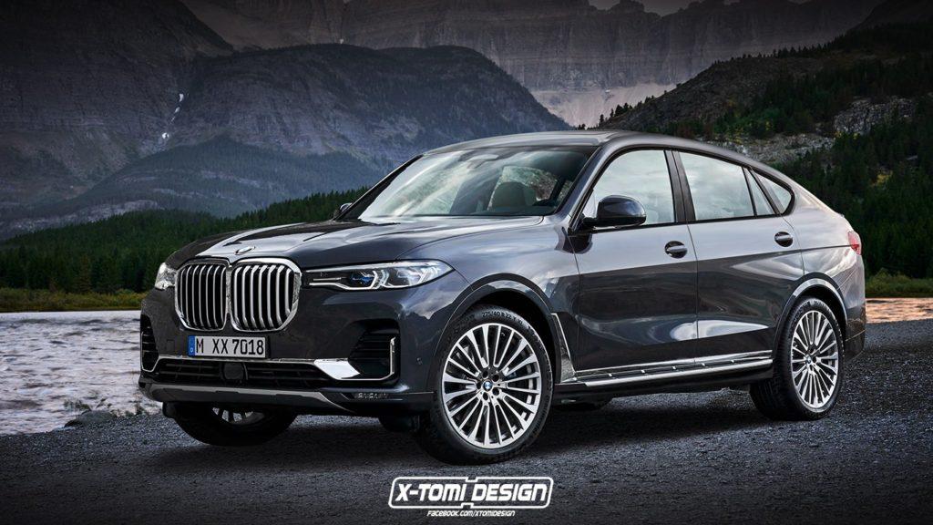 BMW X8: sportività esclusiva per il nuovo maxi SUV [RENDERING]