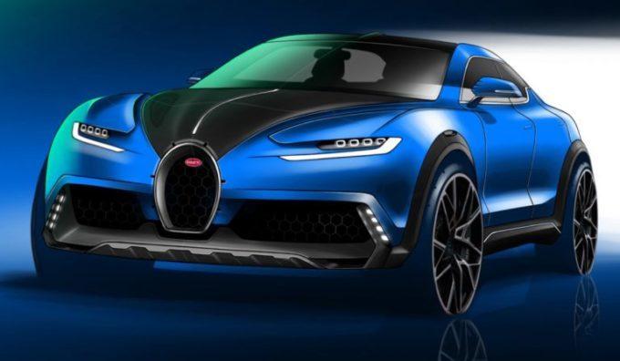 Bugatti: il futuro SUV potrebbe essere così [RENDERING]