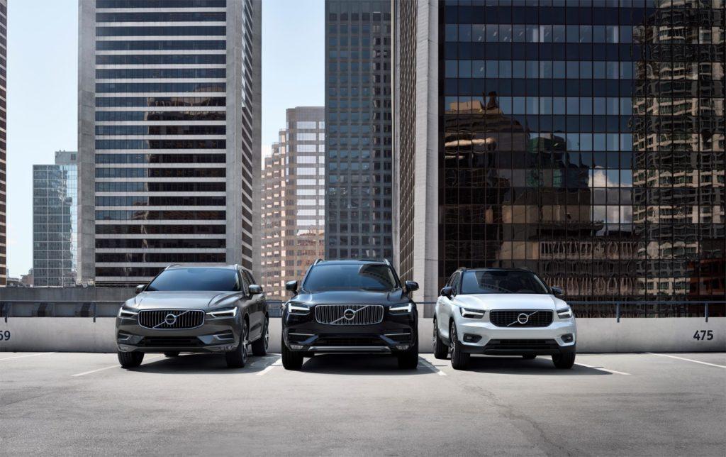 Volvo: nuovo record di vendite nei primi 11 mesi del 2018
