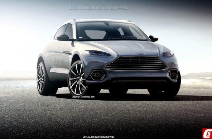 Aston Martin DBX: un RENDERING ne anticipa lo stile