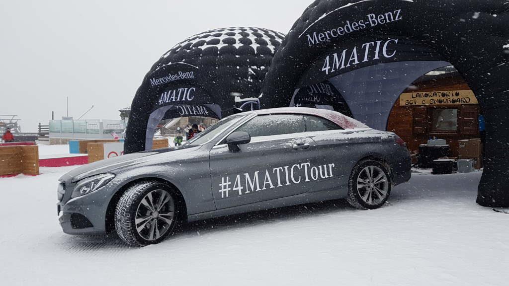 Mercedes, tutto pronto per una nuova stagione del 4Matic Tour