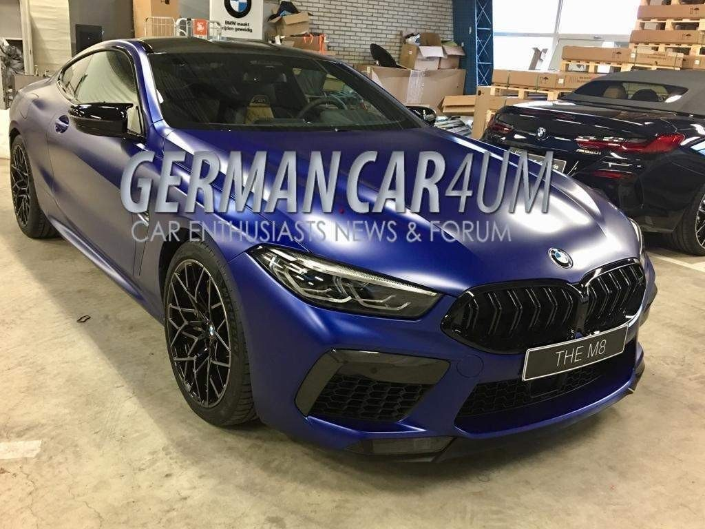BMW M8 Competition: online le prime immagini [FOTO LEAKED]