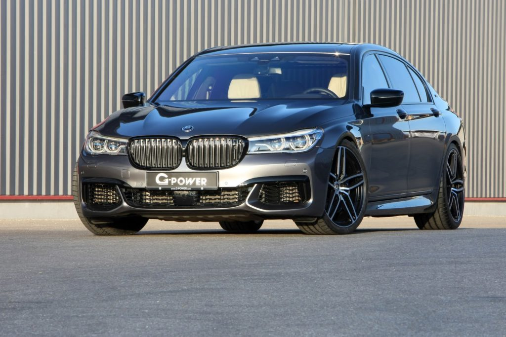 BMW M760Li: arriva a 700 cv e 310 km/h grazie al kit di preparazione G-Power