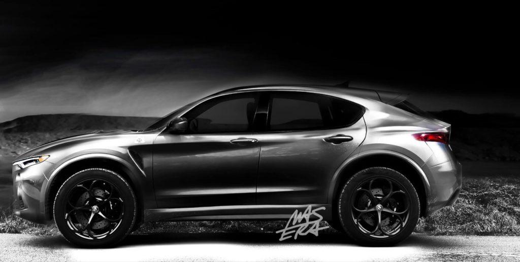 Alfa Romeo Kamal: una nuova prospettiva dell'immaginato SUV compatto del Biscione [RENDERING]