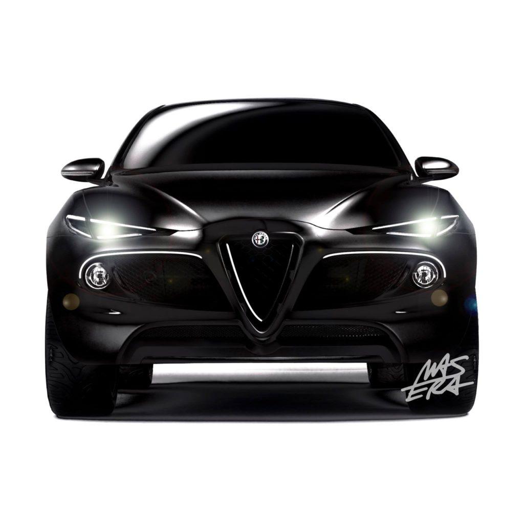 Alfa Romeo: riportato in auge il nome Kamal per un'ipotesi del futuro SUV compatto [RENDERING]