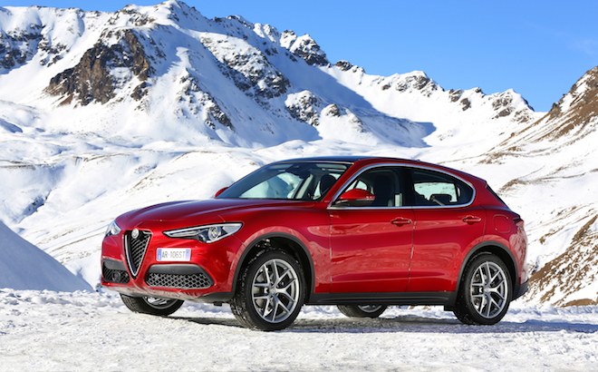 Alfa Romeo: partito il Winter Tour con Giulia e Stelvio