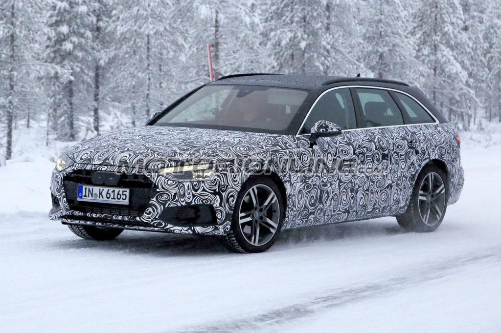 Audi A4 Avant MY 2020 foto spia 10 dicembre 2018