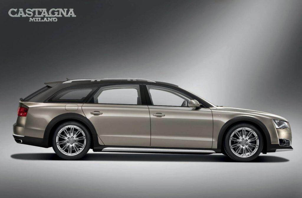 Audi A8 Avant, la nuova creazione della carrozzeria Castagna Milano