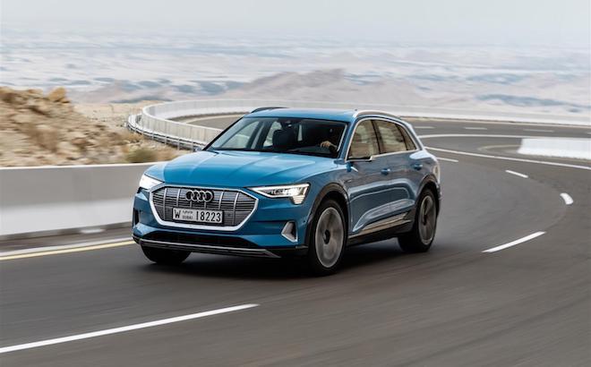 Audi e-tron: prevendita in Italia da gennaio, da 83.930 euro