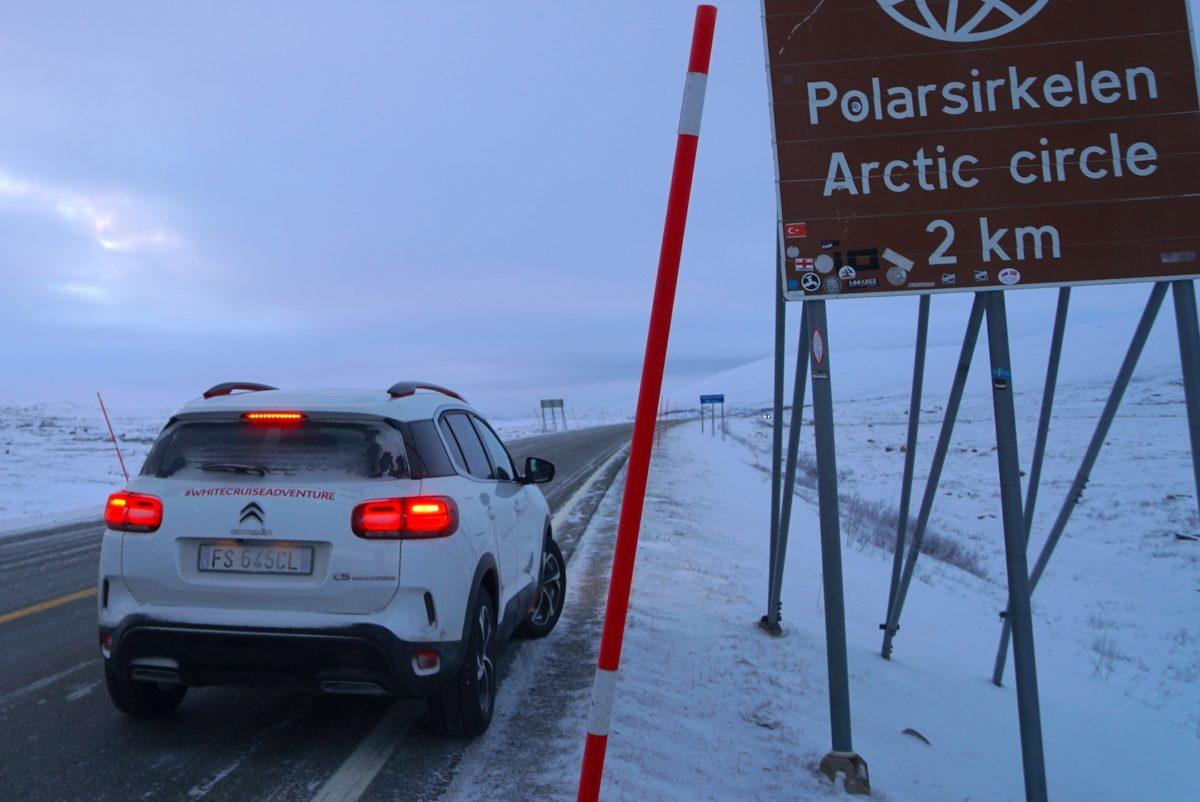 Citroen C5 Aircross 71° N Limited Edition: la spedizione ha raggiunto il Circolo Polare Artico [FOTO]