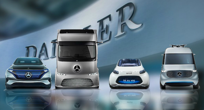 Daimler: il futuro della mobilità in cinque C