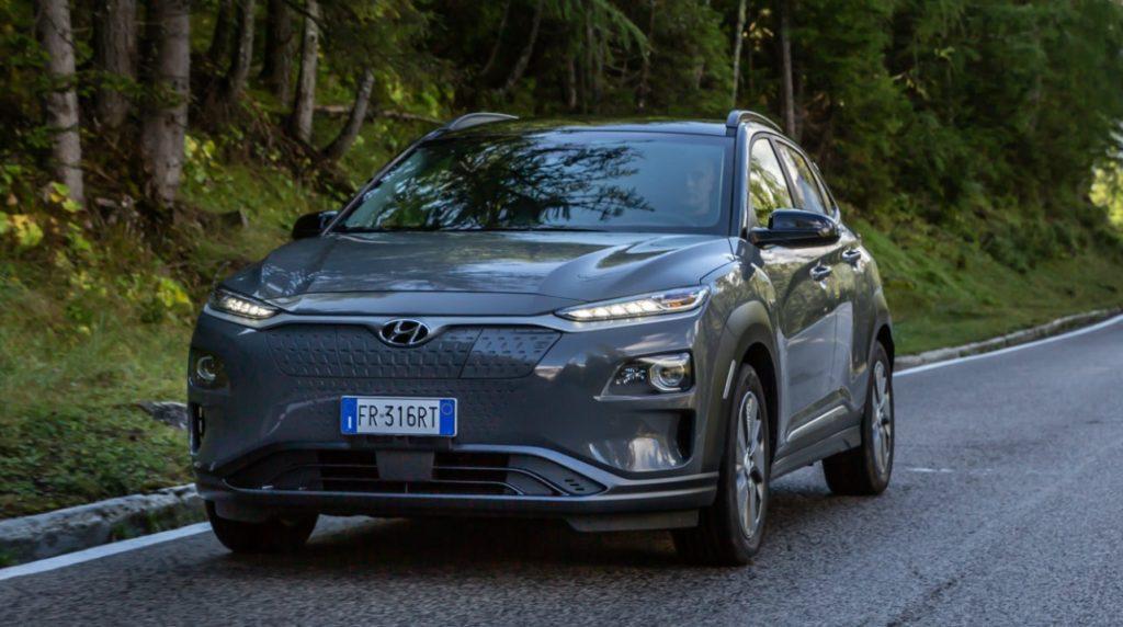 Hyundai Kona electric: rilasciati i dati esatti sull'autonomia di guida nel ciclo WLTP