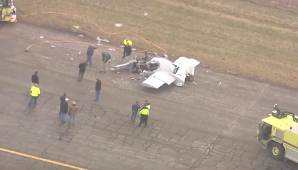 Auto volante ibrida: incidente durante un test a Detroit [VIDEO]