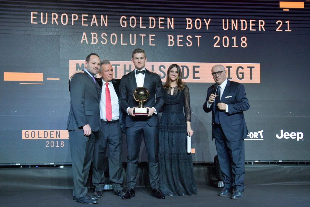 Jeep protagonista alla serata di gala Golden Boy 2018