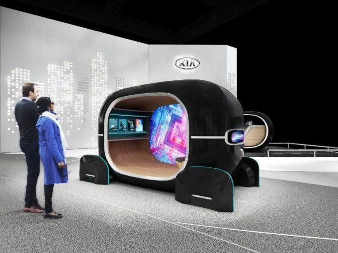Kia al CES 2019 con l'abitacolo che riconosce le emozioni sfruttando l'AI