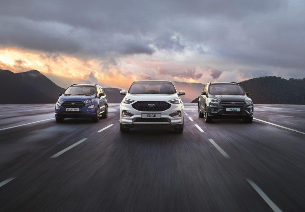 Ford: le vendite di SUV vanno a gonfie vele
