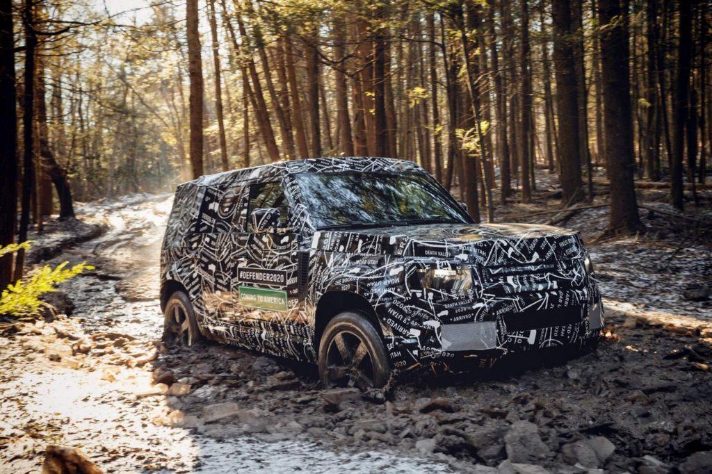 Land Rover Defender MY 2020 USA e Canada
