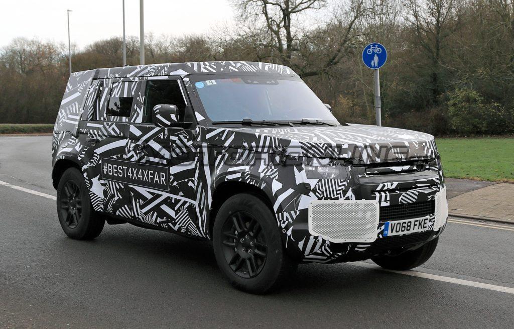 Land Rover Defender - Foto spia 05-12-2018