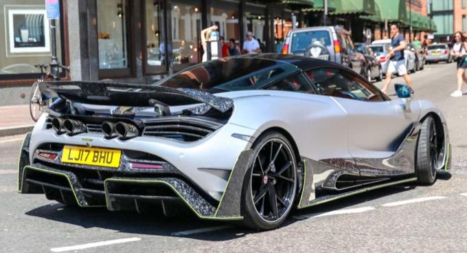 Mansory 720s: primo esemplare avvistato per le strade di Londra [FOTO]