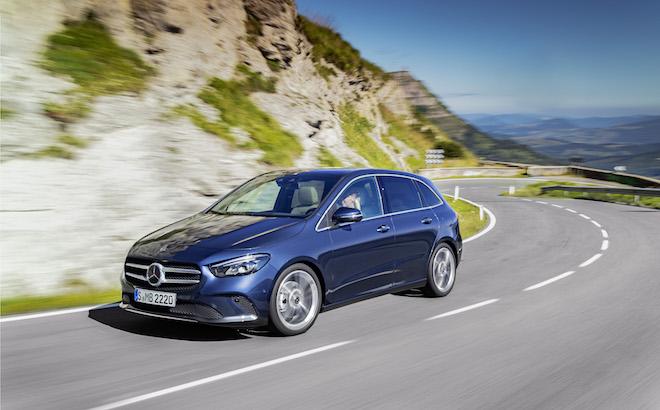 Mercedes Classe B: i prezzi a partire da 27.140 euro