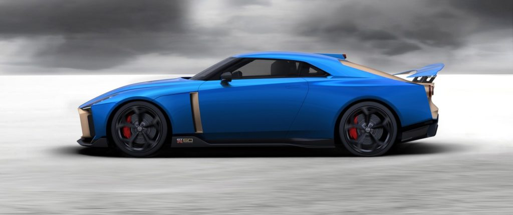 Nissan GT-R50 Italdesign produzione