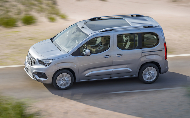 Opel Combo Life: è 'Best Buy Car of Europe 2019' da Autobest
