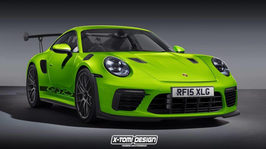 Porsche 911 GT3 RS: ecco come potrebbe essere il nuovo modello [RENDERING]