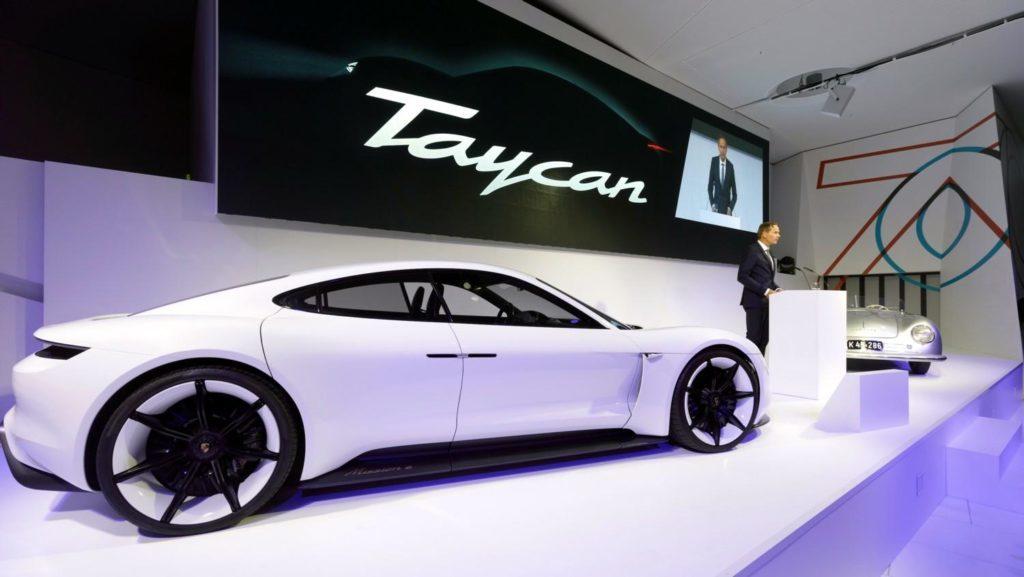 Porsche Taycan: già verso il 'tutto esaurito' per il primo anno