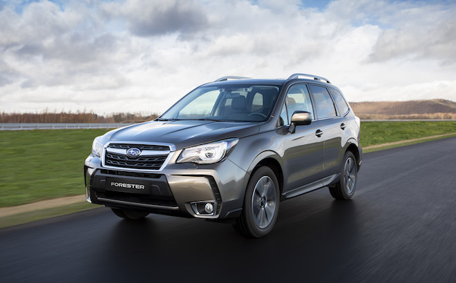 Subaru Forester: sicurezza in primo piano nel MY 2019