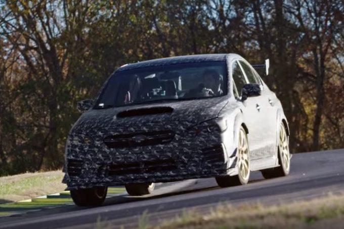 Subaru WRX STI, nuova versione estrema in arrivo al Salone di Detroit [VIDEO TEASER]