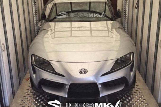 Toyota Supra MY 2020: eccola nella prima immagine [FOTO LEAKED]