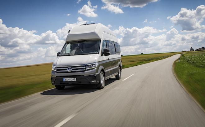 Volkswagen Grand California: conquista il Connected Car Award 2018