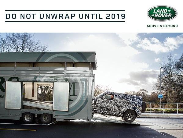 Land Rover Defender: rilasciato il primo TEASER del nuovo modello