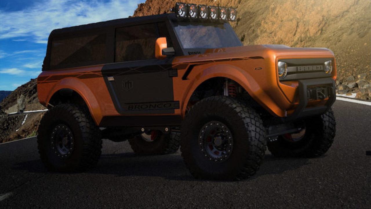 Ford Bronco Il Grande Suv Non Arrivera Prima Del 2020