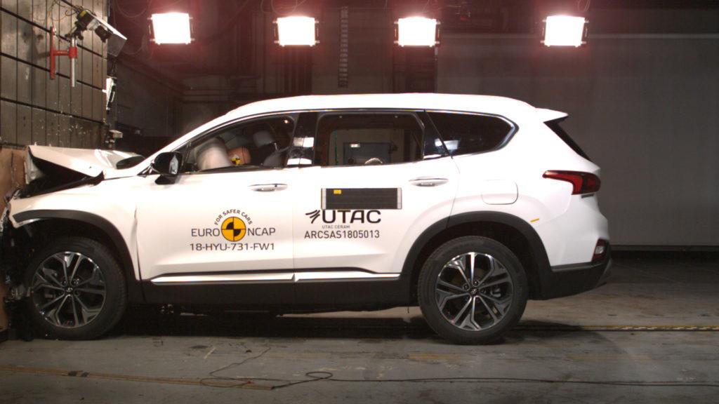 Hyundai Santa Fe: SUV coreano premiato con le cinque stelle Euro NCAP [VIDEO]