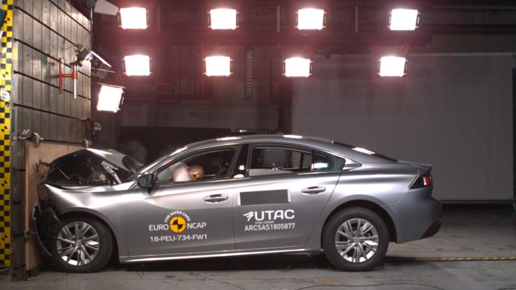 Peugeot 508: vettura premiata con le cinque stelle Euro NCAP [VIDEO]