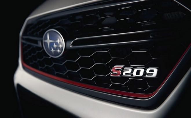 Subaru WRX STI S209: l'edizione speciale per Detroit [TEASER]