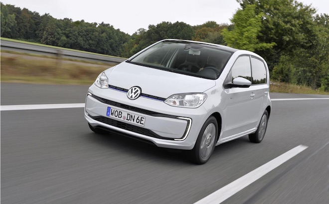 Volkswagen e-up!: la nuova generazione potrebbe arrivare nel 2020
