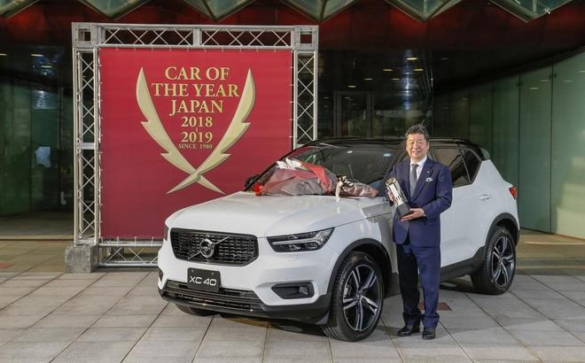 Volvo XC40: è l'auto dell'anno 2018 in Giappone