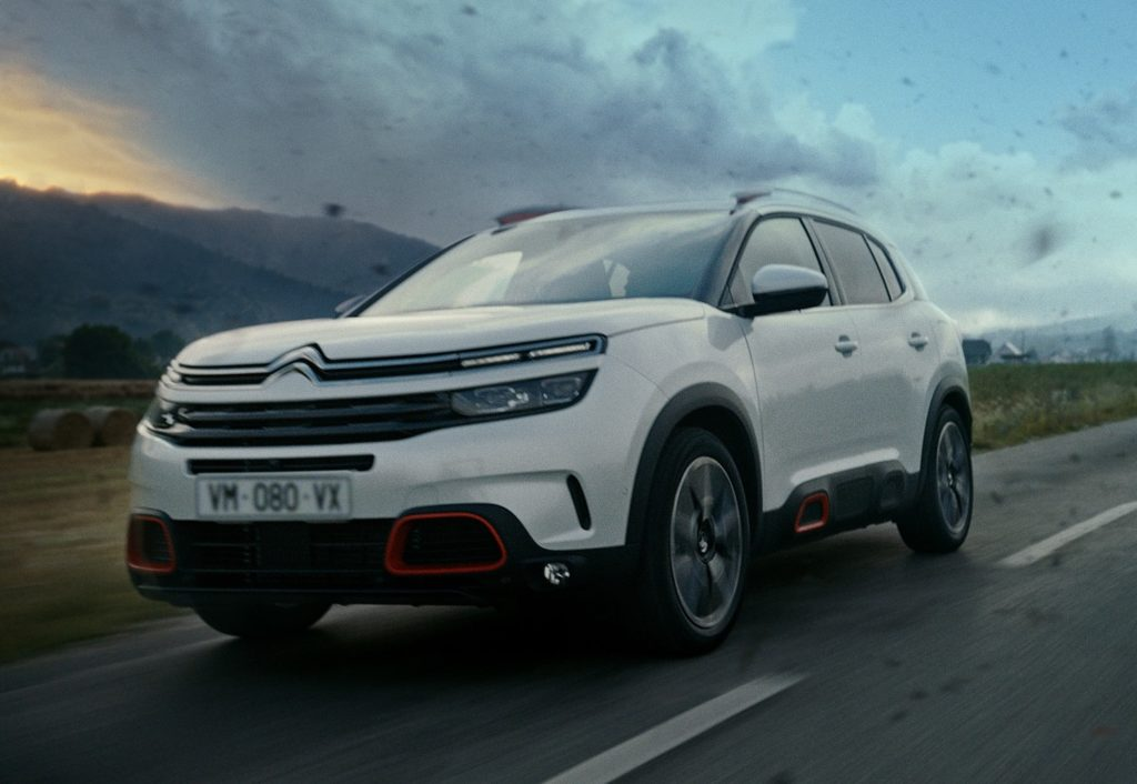 Citroen C5 Aircross: il nuovo spot TV è on air anche in Italia [VIDEO]