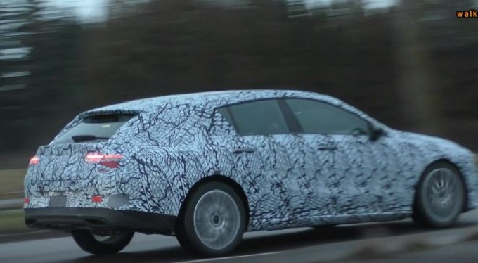 Mercedes CLA Shooting Brake MY 2020 filmata per strada [VIDEO SPIA]