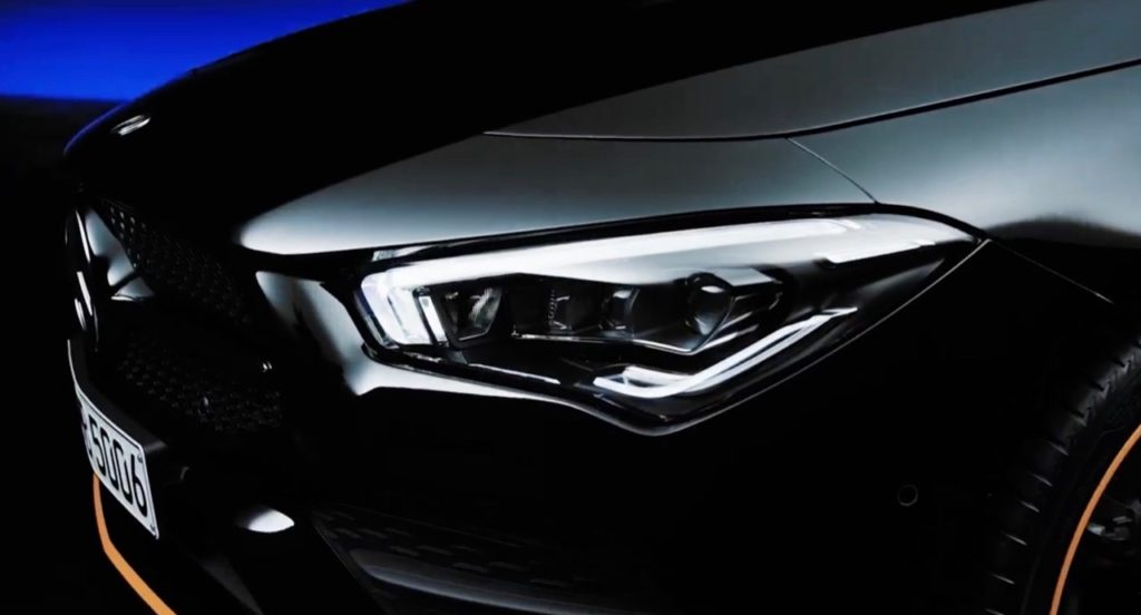 Mercedes CLA 2020: ancora un'occhiatina prima del debutto [VIDEO TEASER]