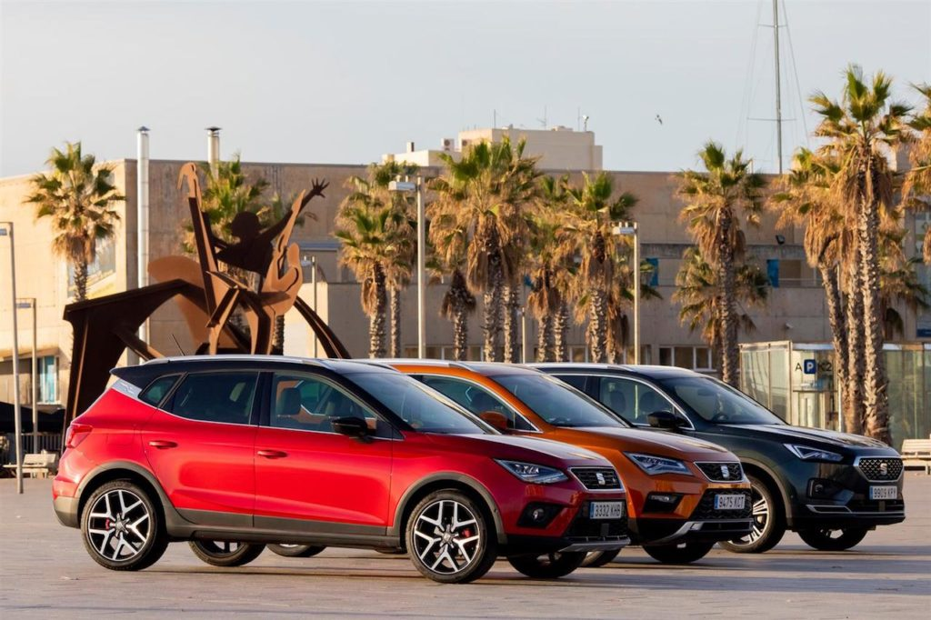 Seat: i tre SUV sulle strade di Barcellona [VIDEO]