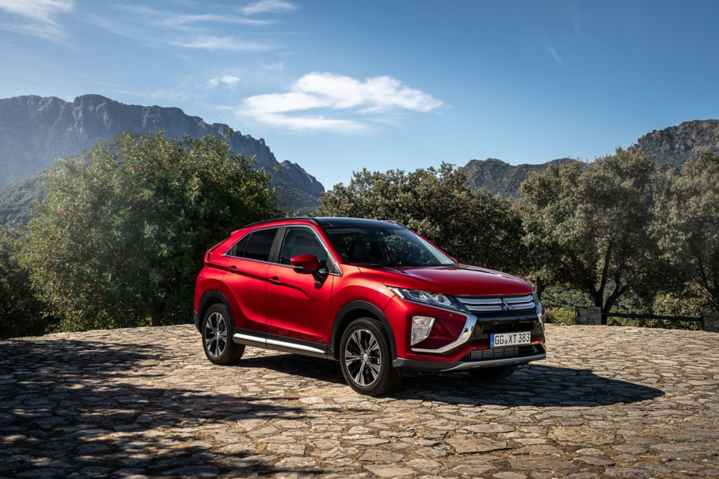 Mitsubishi Eclipse Cross: novità in vista per il MY 2019
