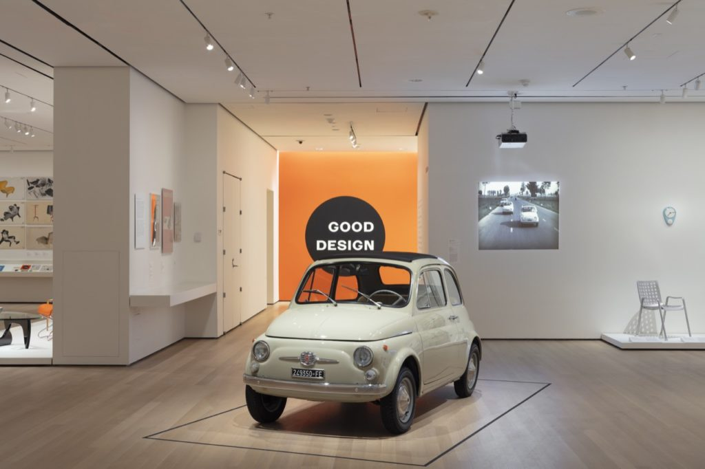 Fiat 500 serie F - MoMA